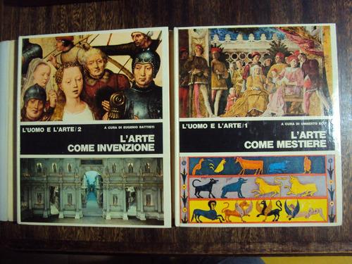 el hombre y el arte como misterio invención eco en italiano