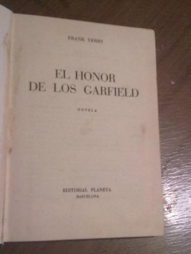 el honor de los garfield - frank yerby