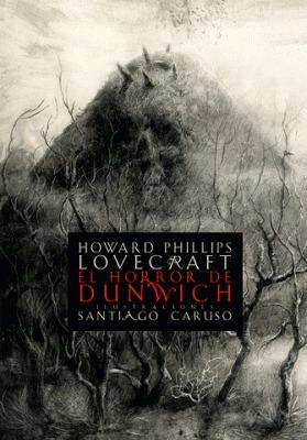 el horror de dunwich, lovecraft / caruso, ed. zorro rojo