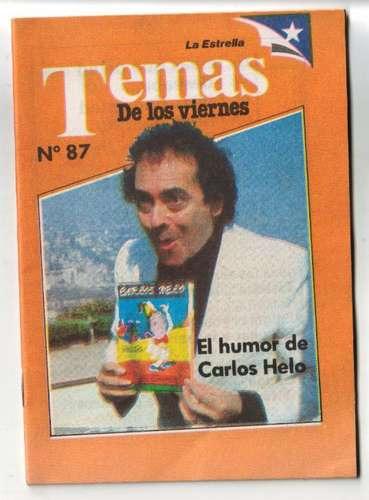 el humor de carlos helo, claudio solar, 1988, la estrella