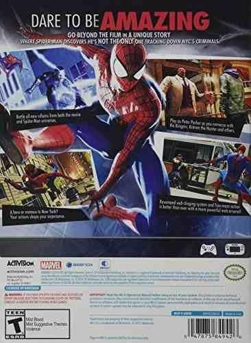 el increíble spider-man 2 - wii u