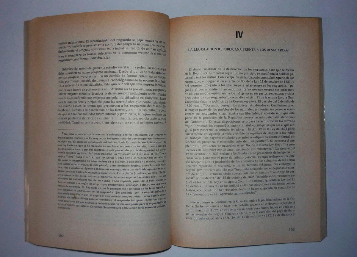 El Indio En Lucha Por La Tierra - Juan Friede - 3a Edicion ...