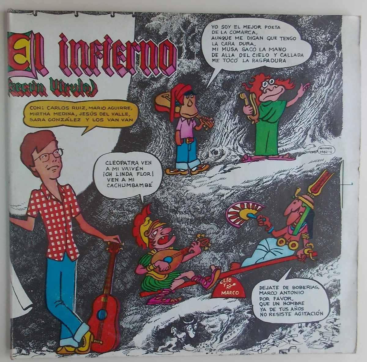 El Infierno Segun Virulo. Album Doble. Vinilo - $ 600,00 en Mercado ...