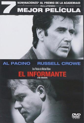 el informante the insider pelicula en dvd
