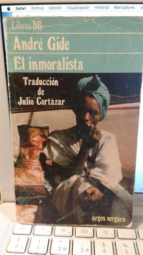 el inmoralista andre gide traducción de julio cortázar