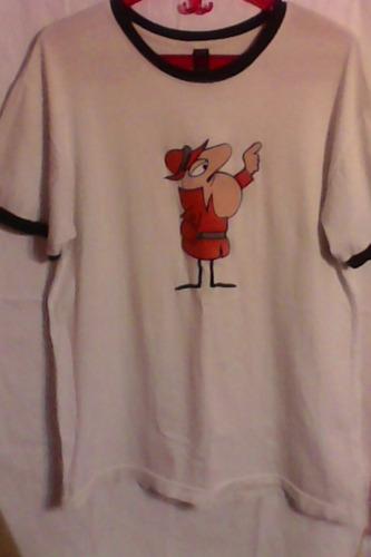 el inspector -personaje pantera rosa - remera talle m- el entrañable personaje retro-  unica- solo para seguidores-!!!!!