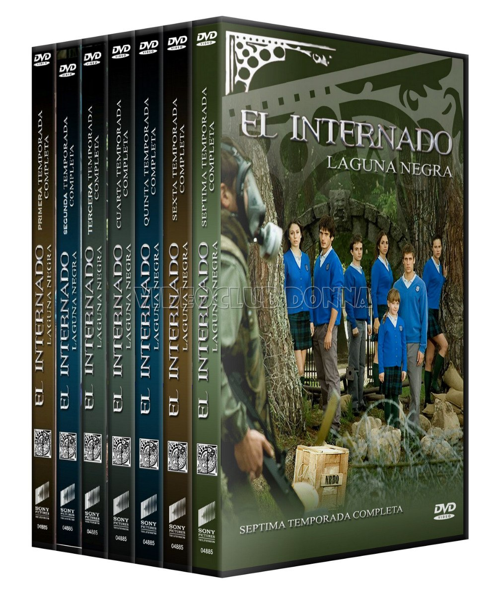 El Internado Laguna Negra 7 Temporadas En Dvd Serie Completa ...