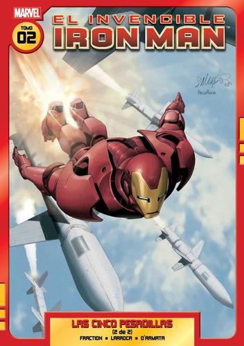 el invencible iron man vol 02 editorial ovnipress
