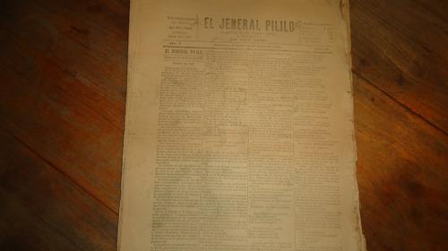 el jeneral pililo y poncho pilatos 1896-1899
