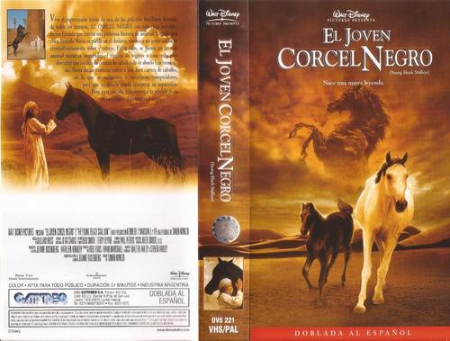 el joven corcel negro vhs castellano walt disney caballos