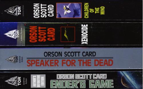 el juego de ender - the ender quartet box set - inglés