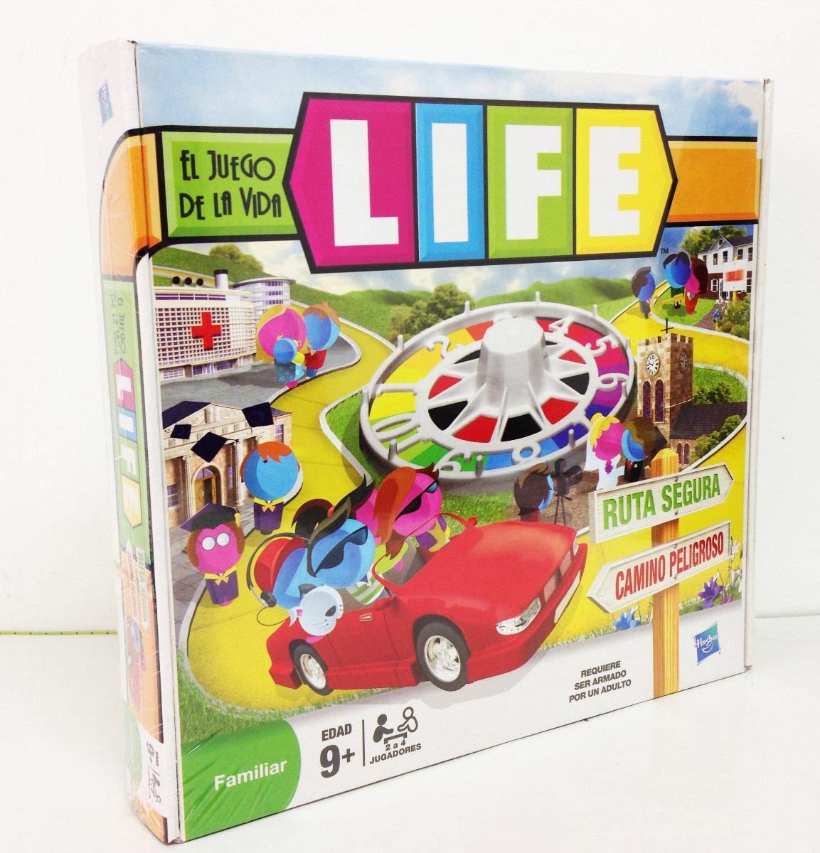 El Juego De La Vida Juego Mesa Familiar Hasbro Life 142 890 En