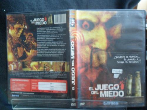 el juego del miedo 2 dvd original 1ea