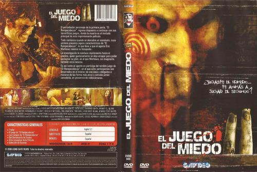 el juego del miedo ii dvd saw 2 terror tobin bell