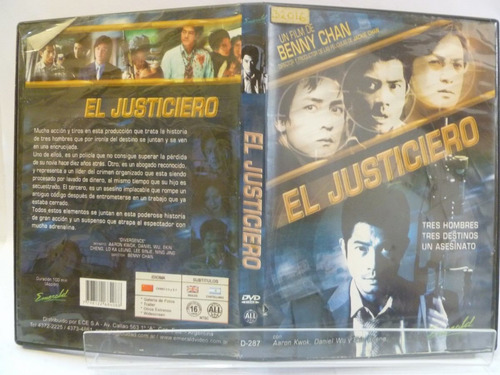 el justiciero de benny chan dvd original 1bg