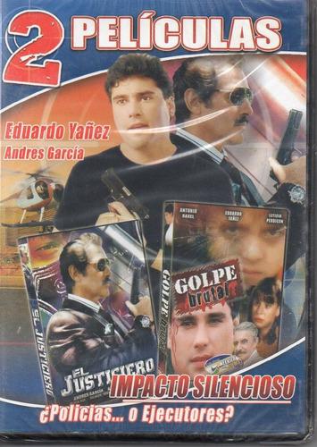 el justiciero + golpe brutal. nueva en formato dvd