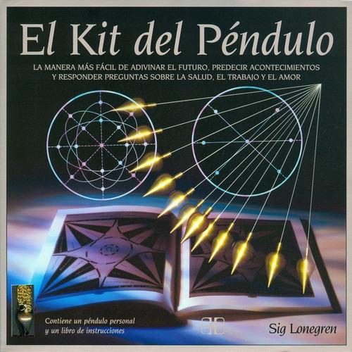 el kit del pendulo - incluye péndulo y libro envio express