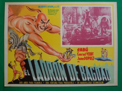 el ladron de bagdad sabu conrad veidt orig cartel de cine 5