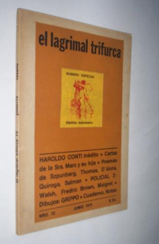 el lagrimal trifurca nº 12 conti inédito thomas walsh grippo