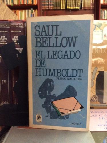 el legado de humboldt, saul bellow