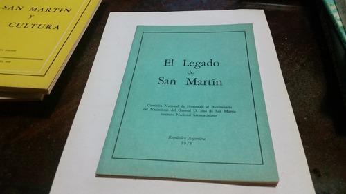 el legado de san martin pensamientos maximas sentencias