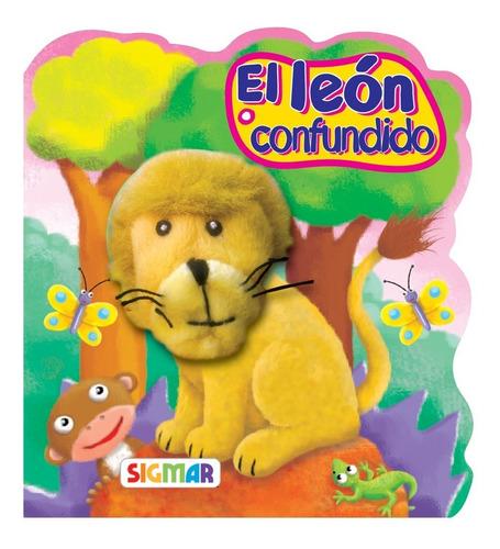 el león confundido colección títere