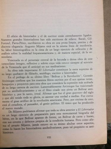 el libertador - augusto mijares - caracas - 1987