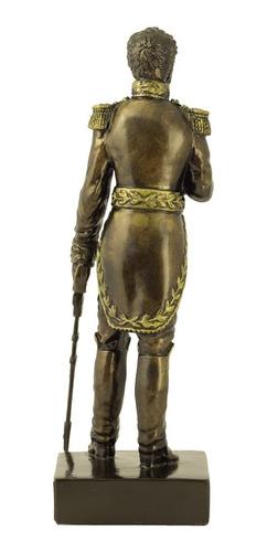 el libertador simón bolívar,pedestre,con su espada,tanagra