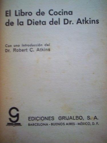 el libro de cocina de la dieta del dr. atkins