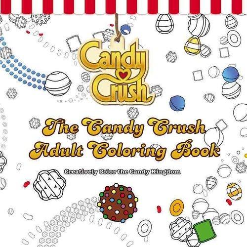 El Libro De Colorear Adultos Candy Crush Color Creativo El