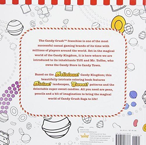 El Libro De Colorear Para Adultos De Candy Crush Colorea Cre