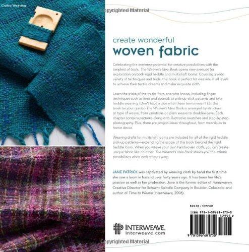 el libro de ideas del tejedor: paño creativo en un telar...