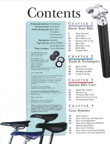 el libro de la bicicleta - reparacion - mantenimiento haynes