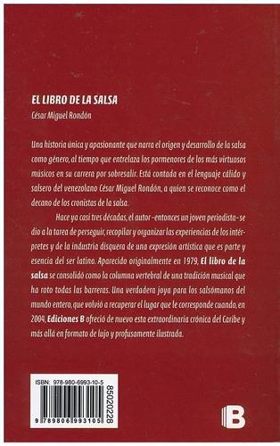 el libro de la salsa de césar miguel rondón. cd incluido.