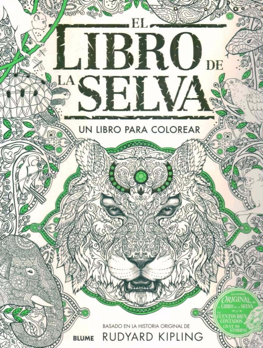 Atractivo Colorear Libro De La Selva Componente - Ideas Para ...