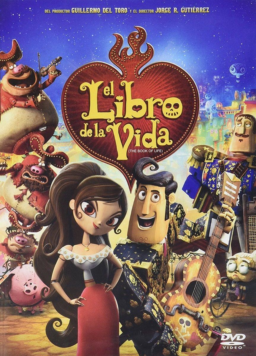 El Libro De La Vida Pelicula Dvd - $ 159.00 en Mercado Libre