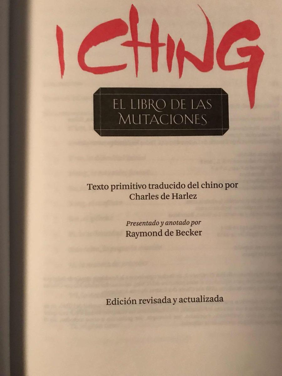 el libro de las mutaciones ( i ching )editorial alma. Cargando zoom.