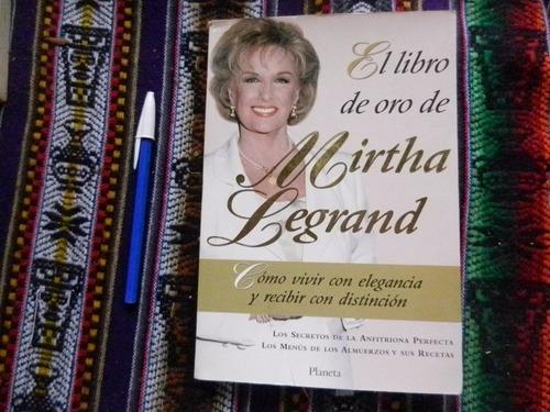 el libro de oro de mirtha legrand