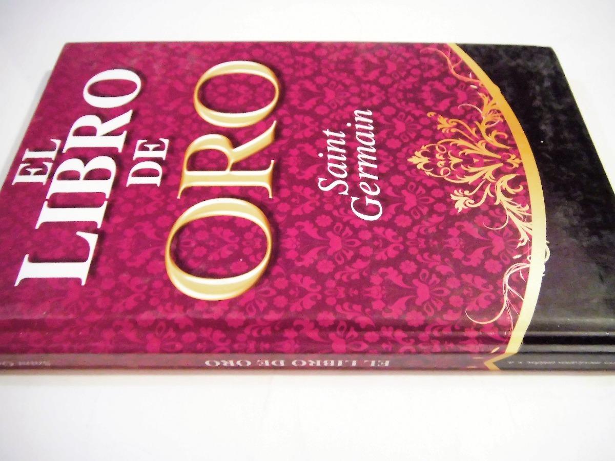 El Libro De Oro Saint Germain Tapa Dura 16000 En Mercado Libre