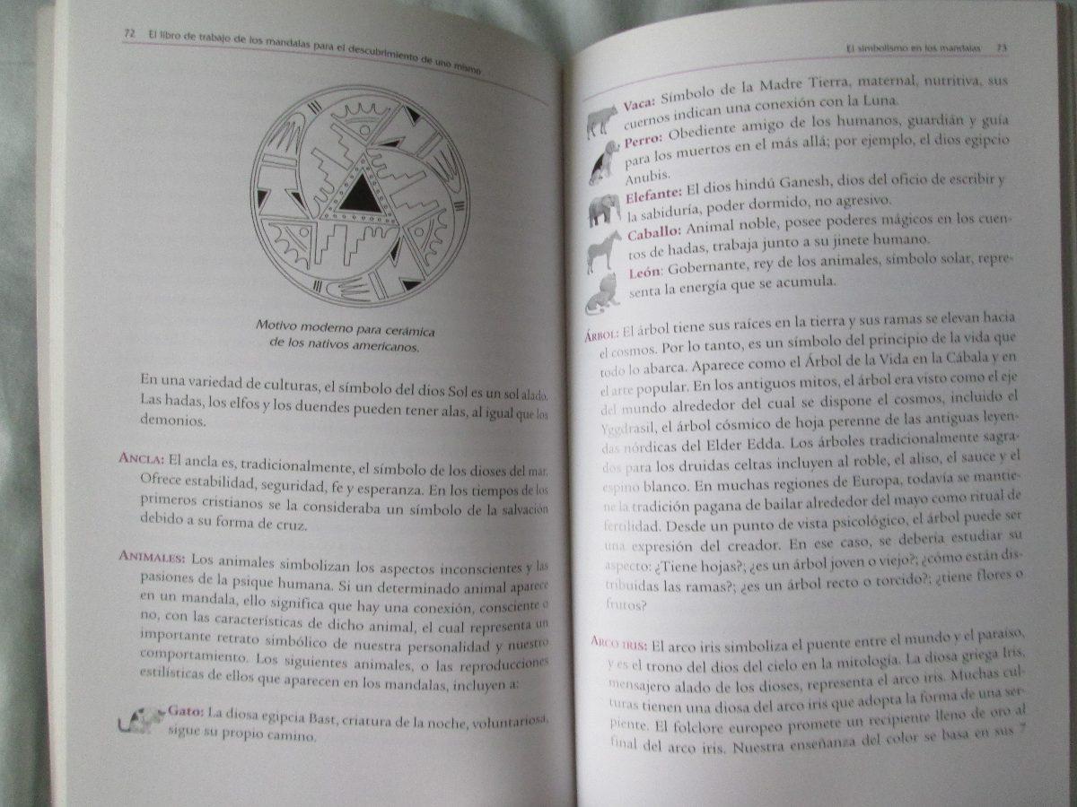 El Libro De Trabajo De Los Mandalas Anneke Huyser 8000 En