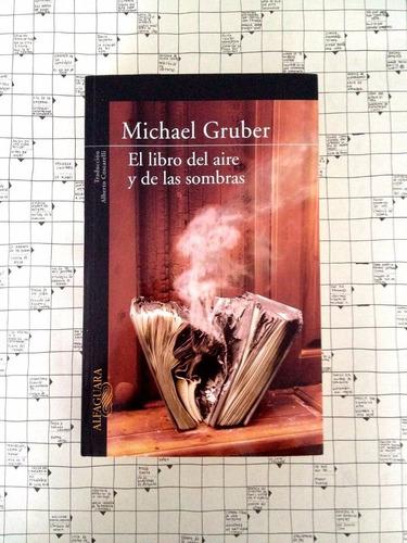 el libro del air y de las sombras por michael gruber. u37
