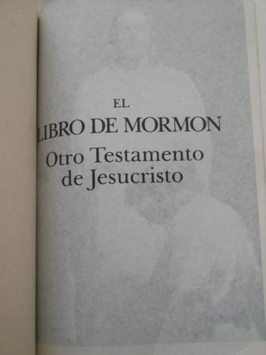 el libro del mormón. otro testamento de jesucristo.