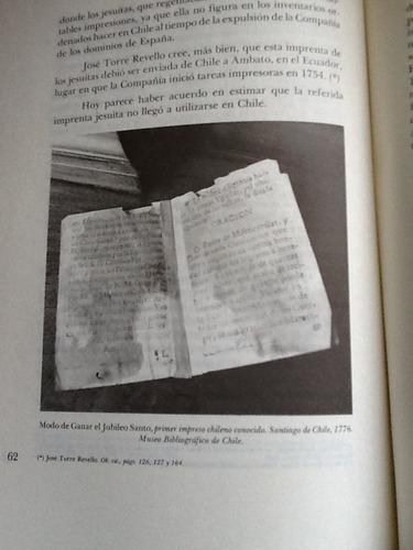 el libro en chile - sergio martínez baeza - 1982