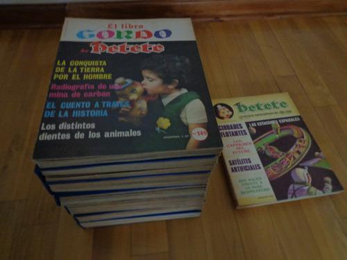 el libro gordo de petete. 6 tomos. 135 fasciculos.coleccion