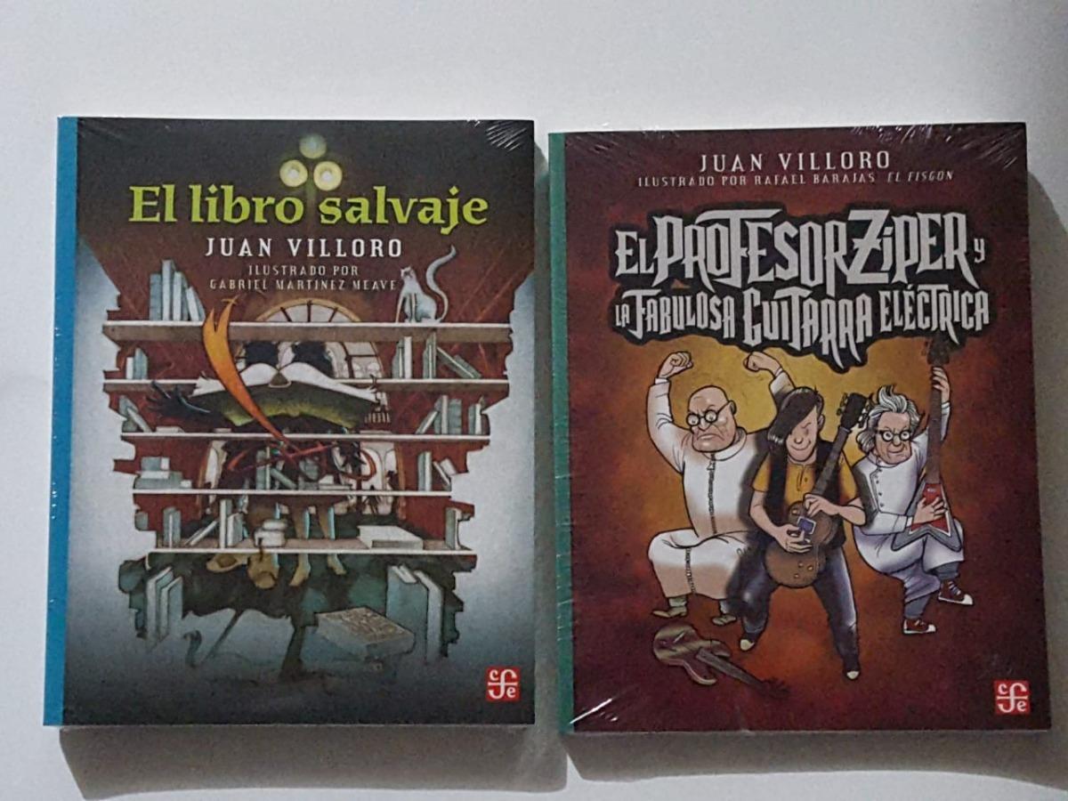 el libro salvaje + profesor ziper / juan villoro. Cargando zoom.