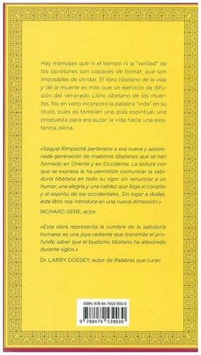 el libro tibetano de la vida y de la muerte sogyal rimpoché.