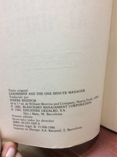 el líder ejecutivo al minuto