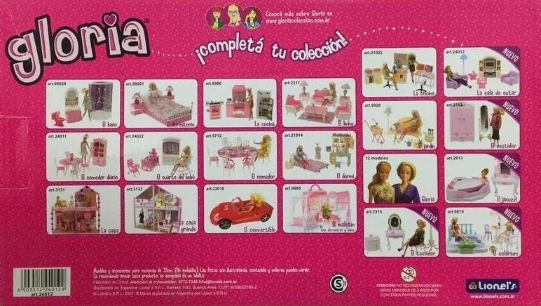 El Living De Gloria Muebles Para Casa Muñecas Barbie Smile - $ 598 ...