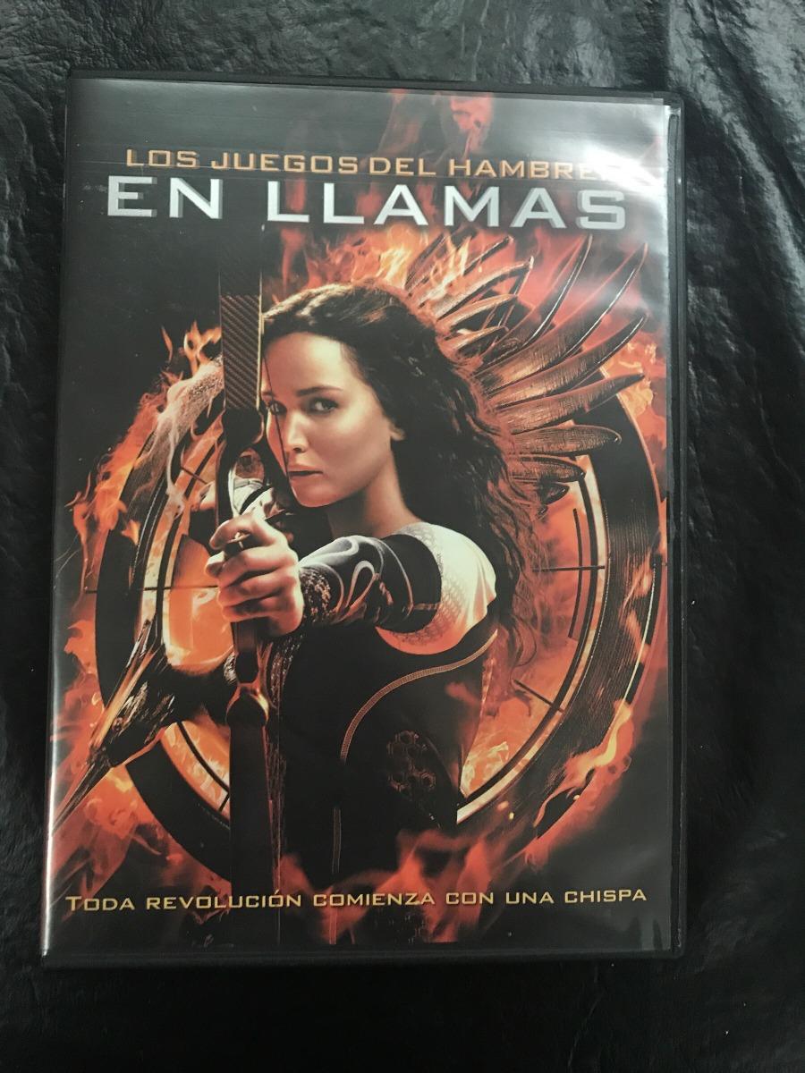 El Llamas Los Juegos Del Hambre 2 Dvd Original 150 00 En