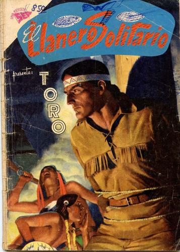 el llanero solitario  nº101, agosto 1961, novaro